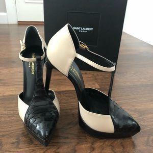 Saint Laurent high stiletto heels -size 7.5 US